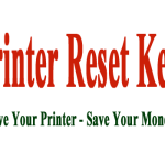 Printer Reset Keys Model Support 2015