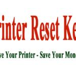 L805 resetter | Printer Reset Keys