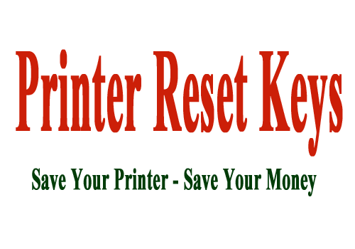 Reset SP 785 waste ink pad counter